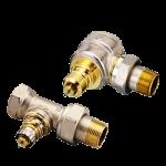 Терморегуляторы для радиаторов и запорные клапаны